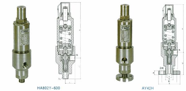 AY42H/HA802Y安全溢流阀