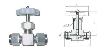 QJ-1A 氣動管路截止閥2